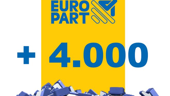 Europart supera los 4.000 usuarios en Facebook