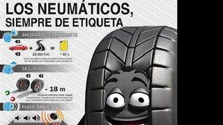 Conepa colabora en una nueva campaña sobre el etiquetado de neumáticos