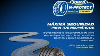 Vulco lanza N-Protect, un seguro para neumáticos