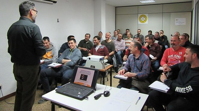 Los talleres de Barcelona se forman en Prevención de Riesgos Laborales