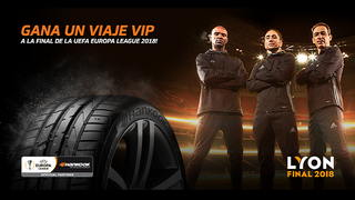 Hankook Tire lleva a sus clientes a la final de la UEFA Europa League 2018