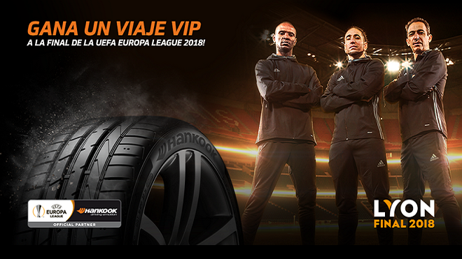 Hankook Tire lleva a sus clientes a la final de la UEFA Europa League 2018