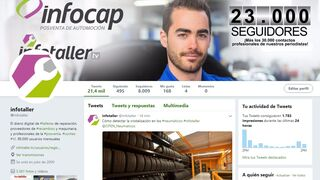 Infotaller supera los 8.000 seguidores en Twitter