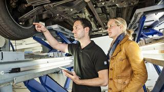 ZF aconseja ofrecer al cliente una revisión del vehículo en primavera