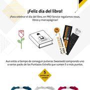 Pro Service celebra el Día Internacional del Libro y Sant Jordi
