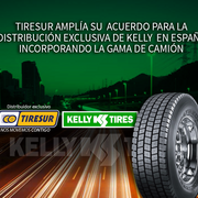 Tiresur obtiene la distribución exclusiva de Kelly TBR