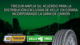 Tiresur obtiene la distribución exclusiva de Kelly TBR