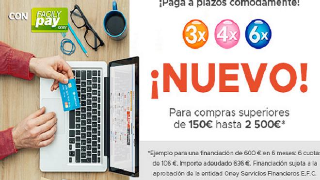 Mister Auto ayuda a financiar la compra de recambios en su web