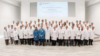 VW Navarra analiza aspectos estratégicos del proceso de pintado