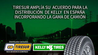 Tiresur, empresa distribuidora de Kelly TBR