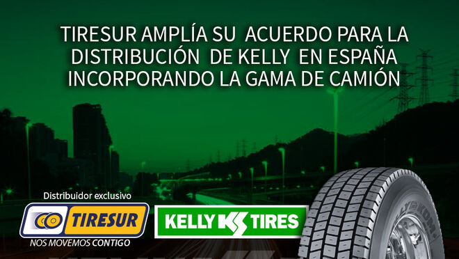 Tiresur, empresa distribuidora de Kelly TBR