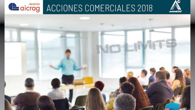 Recanvis Aicrag presenta su plan de actividades 2018