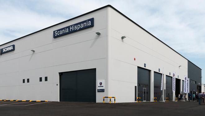 Scania inaugura un concesionario en Asturias