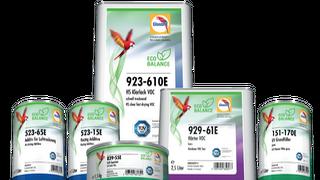 Glasurit lanza una línea de productos más respetuosa con el medio ambiente