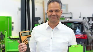 Los equipos de diagnosis Bosch KTS cumplen 30 años