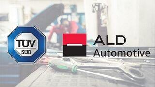 TÜV SÜD certificará los talleres de la red ALD Automotive