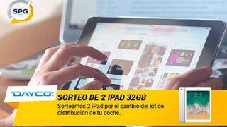 SPG y Dayco sortean iPads al cambiar el kit de distribución