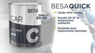 Besa presenta un nuevo aparejo de lijado rápido