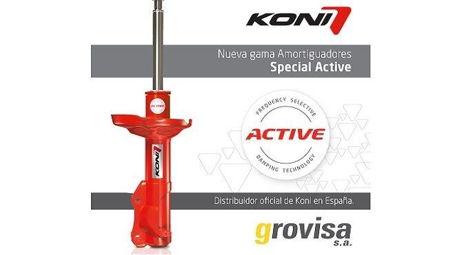 Koni presenta su nueva gama de amortiguación Special Active
