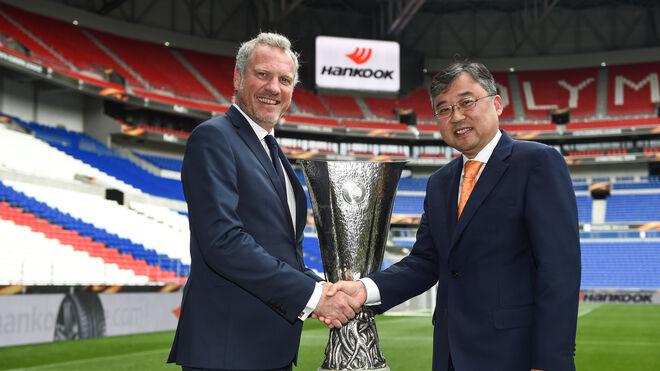 Hankook amplía tres años más su patrocinio a la UEFA Europa League