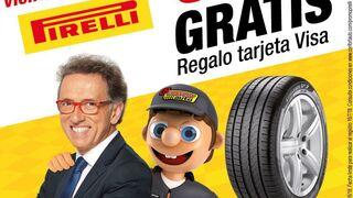 Confortauto regala hasta 50€ por la compra de neumáticos Pirelli