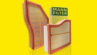 Mann-Filter presenta el filtro de aire con formas personalizadas
