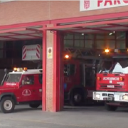 Se incendia un taller de neumáticos en Granada