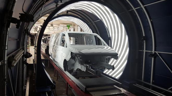 Tecnología española para detectar defectos en las carrocerías