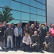 Profesionales de la red de talleres Andel visita la planta de Olipes en Madrid