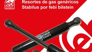 febi bilstein incorpora los resortes de gas genéricos Stabilus