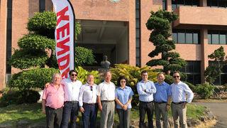 Asociados de Serca viajan a China a conocer las fábricas de Kenda