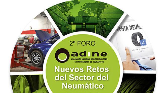 Adine pone a debatir a los expertos sobre los nuevos retos del neumático