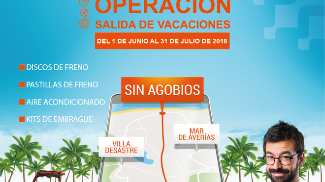 Distrigo ofrece descuentos a talleres con la campaña 'Operación salida de vacaciones'