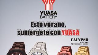 Yuasa regala relojes con la compra de sus baterías