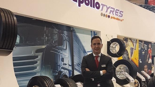 Jon Irala, nuevo responsable de camión para España en Apollo Vredestein