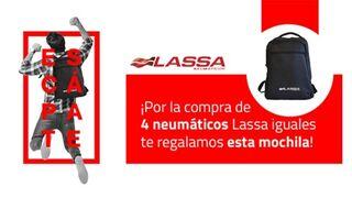 Safame premia a sus clientes por la compra de neumáticos Lassa