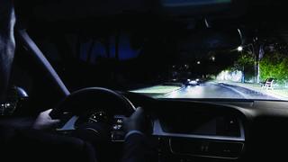 El 5% de los accidentes de tráfico en España suceden por deslumbramientos de noche