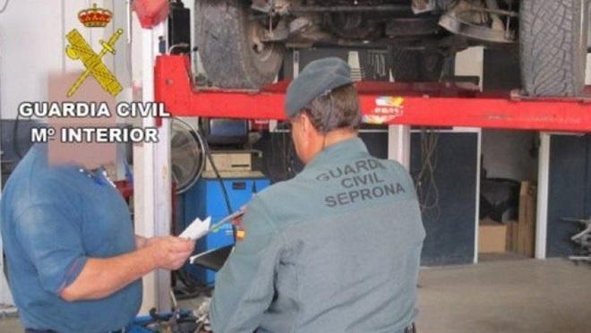 Detectados 13 talleres ilegales en la provincia de Huelva