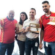 Los ganadores del sorteo de 3M viajan a Rusia