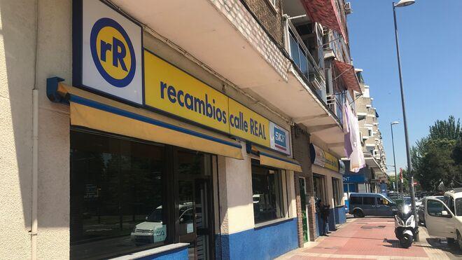 Recambios Calle Real cumple 50 años