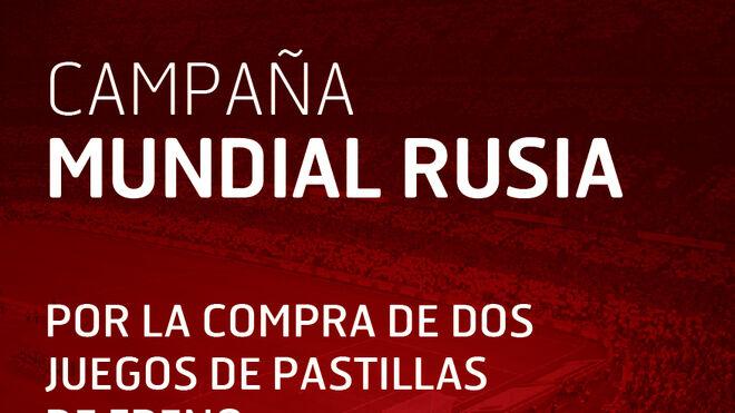 Campaña de Civiparts con el Mundial del Rusia para las pastillas de freno Frasle