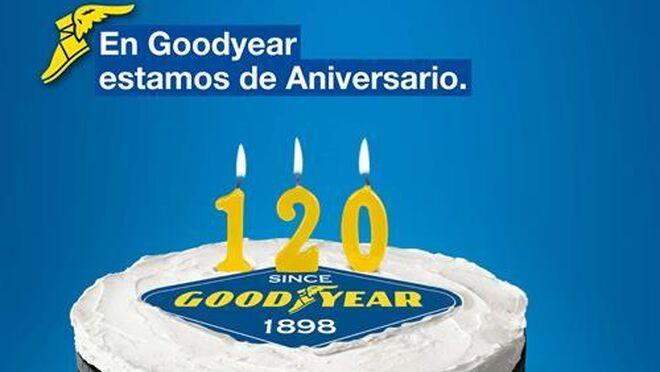 Gafas de edición limitada por el 120 aniversario de Goodyear