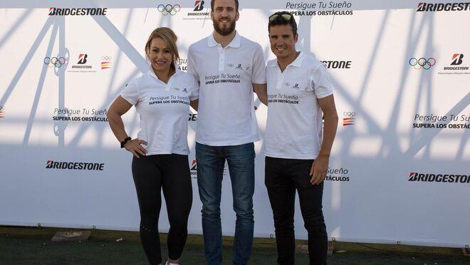 El reto 'Persigue tu sueño' de Bridgestone reúne a 300 personas con 3 atletas olímpicos