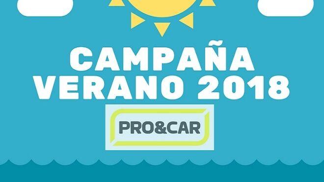 Pro&Car presenta su 'Campaña de Verano' a través de sus distribuidores