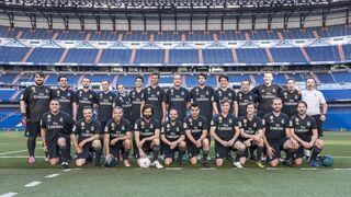 Hankook lleva a la prensa especializada al estadio Santiago Bernabéu