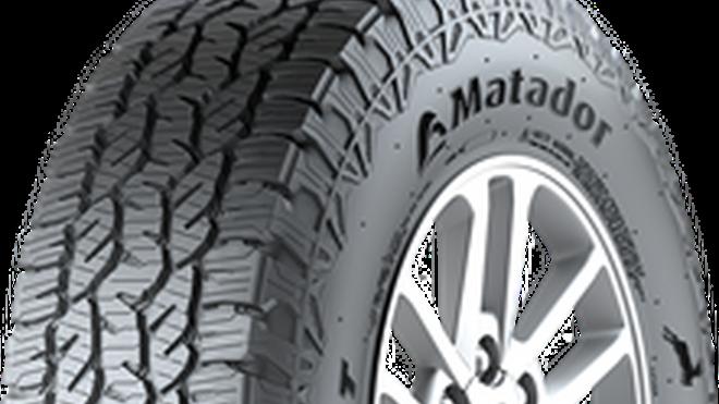 EuroMontyres distribuye los neumáticos Matador Izzarda A/T2 para SUV de Continental