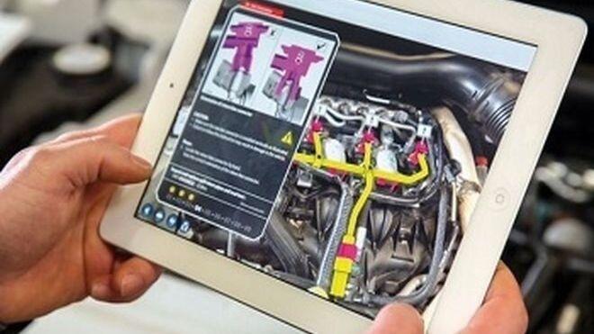 La realidad aumentada y la inteligencia artificial ayudarán a los profesionales del taller