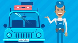 Qué componentes del vehículo conviene revisar antes de las vacaciones