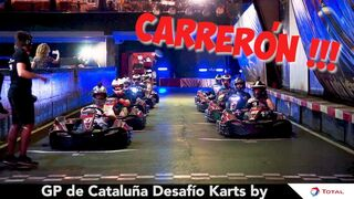 Subidón de adrenalina en la segunda prueba de Desafío Karts by Total