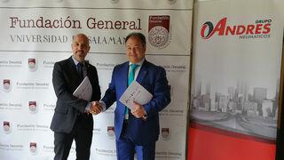 Convenio entre Grupo Andrés y la Fundación de la Universidad de Salamanca